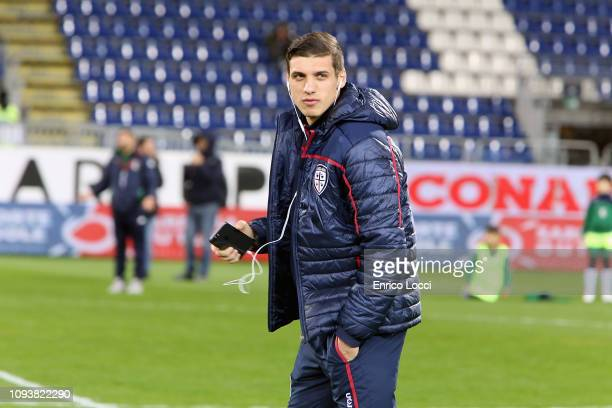 Kiril Despodov of Cagliari looks on during the Serie A match between Cagliari and Atalanta BC at Sardegna Arena on February 4 2019 in Cagliari Italy