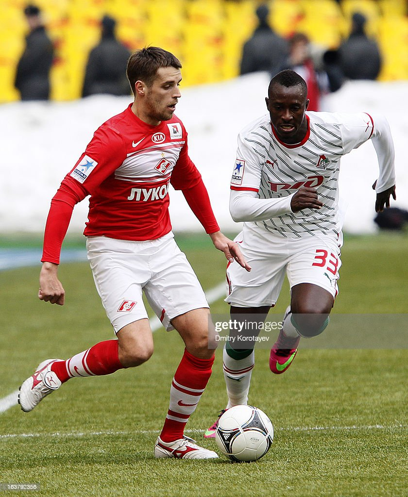 FC Spartak Moskva v FC Lokomotiv Moskva - Russian Premier League