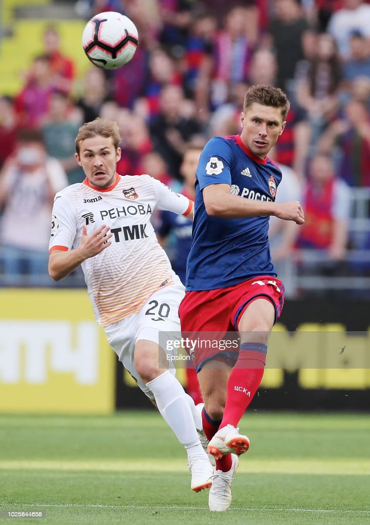 PFC CSKA Moscow vs FC Ural Ekaterinburg - Russian Premier League