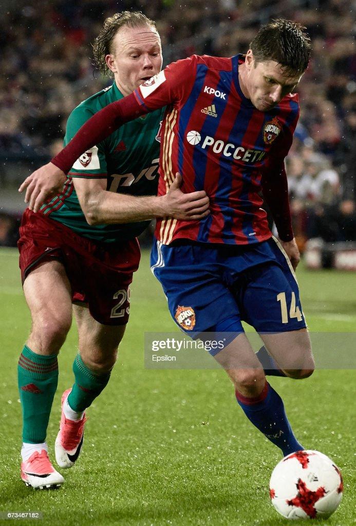 PFC CSKA Moscow vs FC Lokomotiv Moscow - Russian Premier League