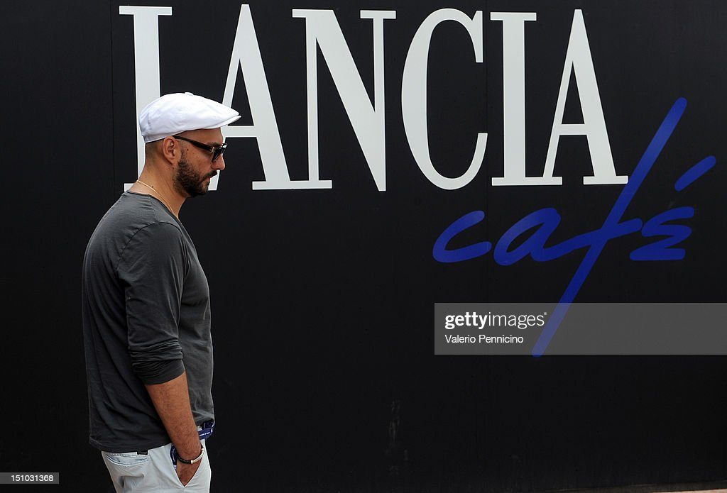Celebrities At The Lancia Cafe: Day 3 - The 69th Venice Film Festival