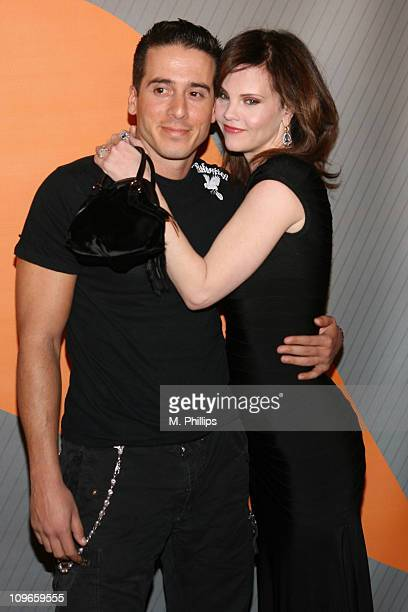 Kirk Acevedo and Kiersten Warren during NBC's Winter 2007 TCA Press Tour All-Star Party - Red Carpet and Inside at Ritz-Carlton in Pasadena,...