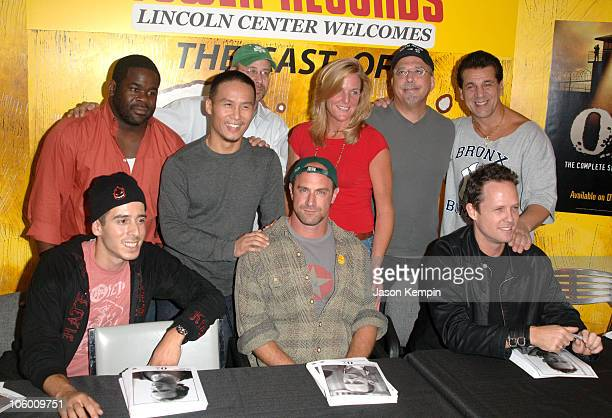 Kirk Acevedo Mums BD Wong Terry Kinney Chris Meloni Tom Fontana Chuck Zito and Dean Winters