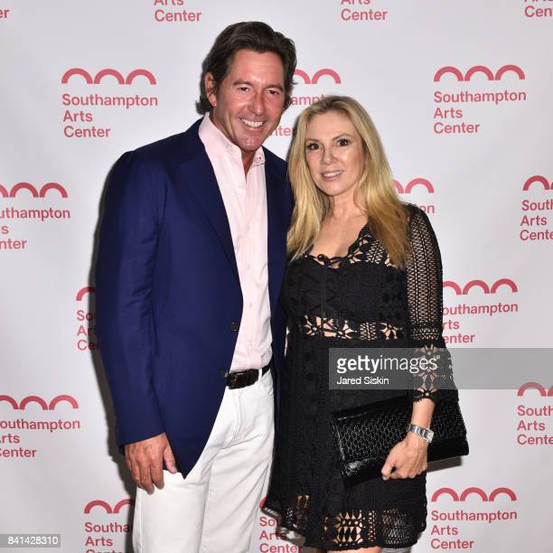 Kirk Basnight and Ramona Singer attend the Annual SummerFest Culinary Arts Festival Honoring Simone Levinson with the Champion of the Arts Award at...