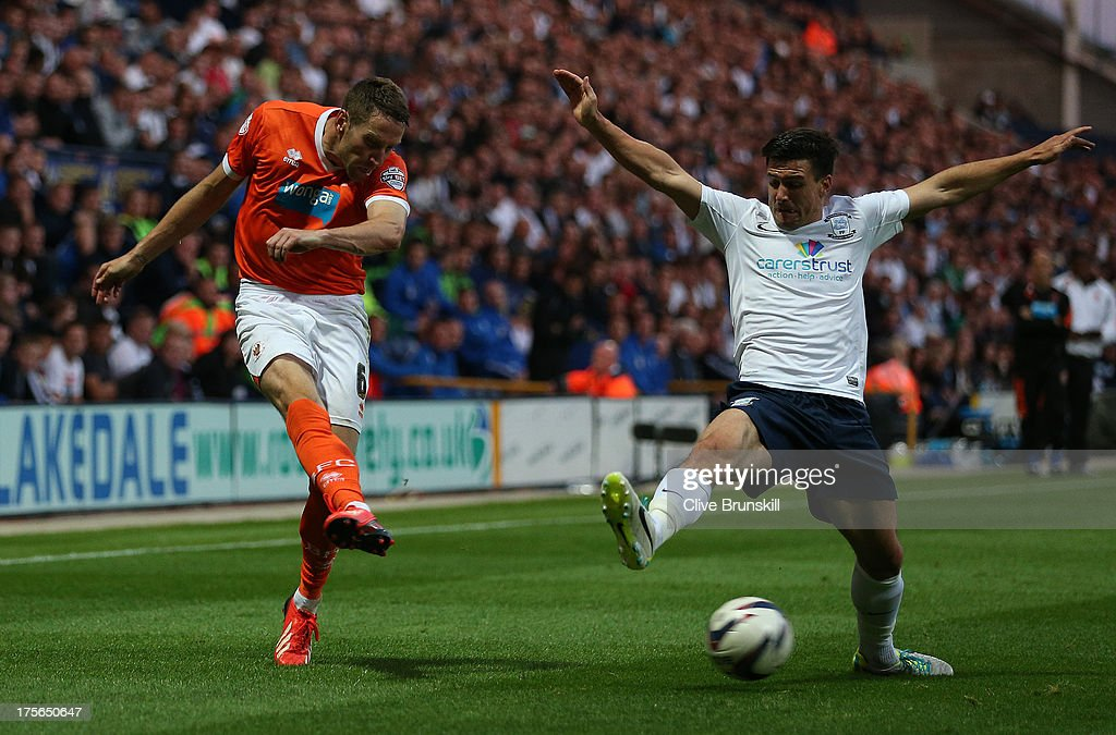 Preston North End v Blackpool - Capital One Cup First Round