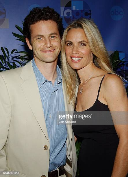 Kirk Cameron and Chelsea Noble during 2004 ABC All Star Party at C2 CafZ in Century City California United States