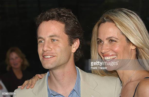 Kirk Cameron and wife Chelsea Noble arrive at the 2004 ABC Summer Press Tour AllStar Party
