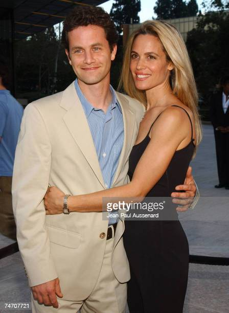 Kirk Cameron and wife Chelsea Noble at the C2 Cafe in Century City California