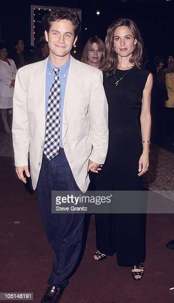 Kirk Cameron Chelsea Noble wife during A Concert of Hope to Benefit Center on Addiction at Pantages Theater in Hollywood CA United States
