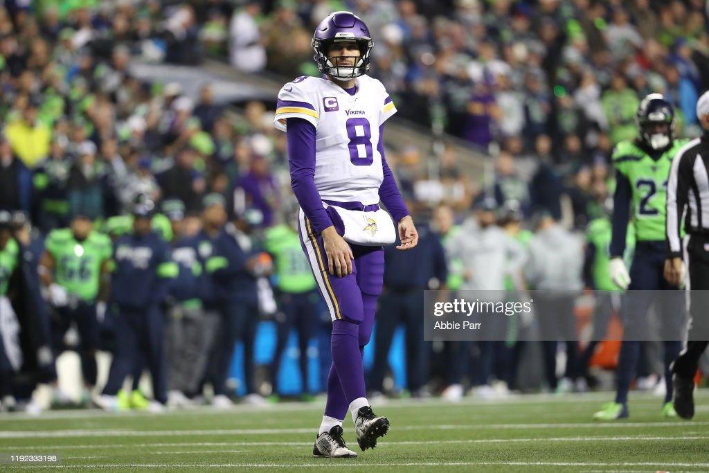 Minnesota Vikings vSeattle Seahawks : ニュース写真