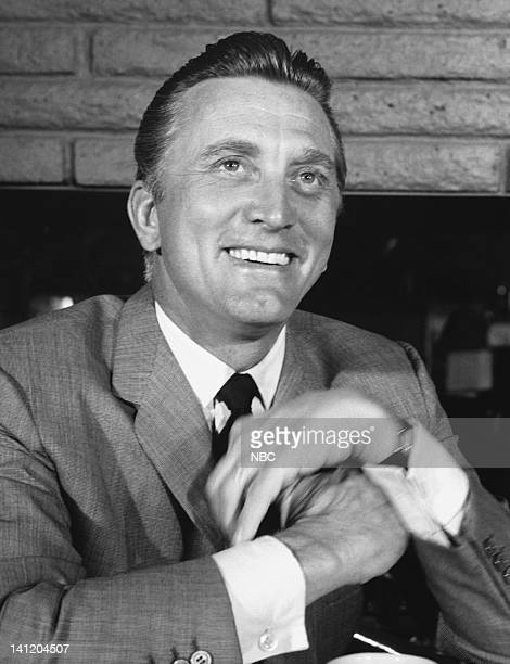 S HOLLYWOOD Kirk Douglas Aired Pictured Actor Kirk Douglas at Stoney's Photo by Gerald Smith/NBCU Photo Bank