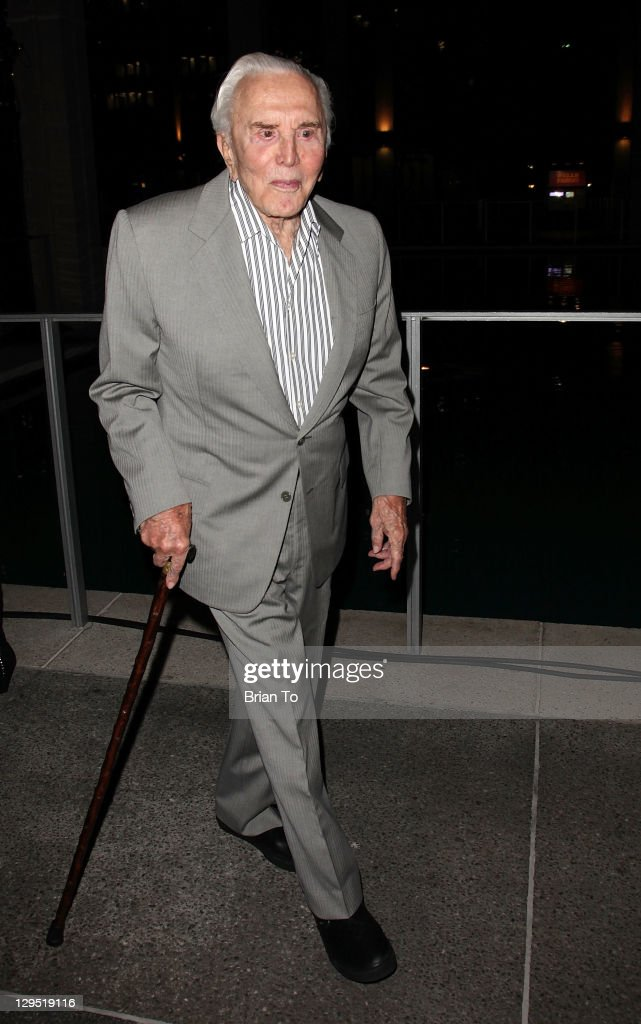 Kirk Douglas attends 'Love, Sweet Love' musical tribute to Hal David at Mark Taper Forum on October 17, 2011 in Los Angeles, California.