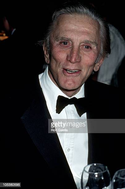 Kirk Douglas during 30th Anniversary of the Joffery Ballet at Dorothy Chandler Pavilion in Los Angeles California United States