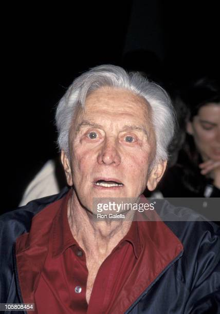 Kirk Douglas during American Booksellers Association Convention May 28 1994 at Los Angeles Convention Center in Los Angeles California United States