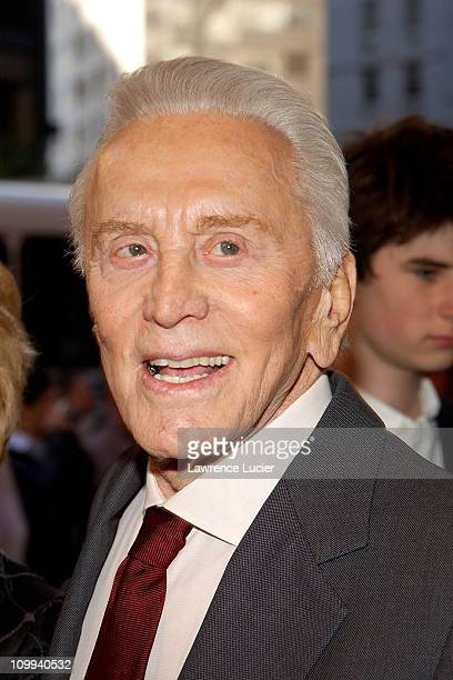 Kirk Douglas during It Runs In The Family New York Premiere at Loews Lincoln Square in New York New York United States