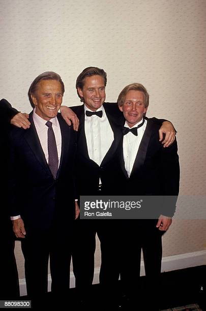 Kirk Douglas Eric Douglas and Michael Douglas