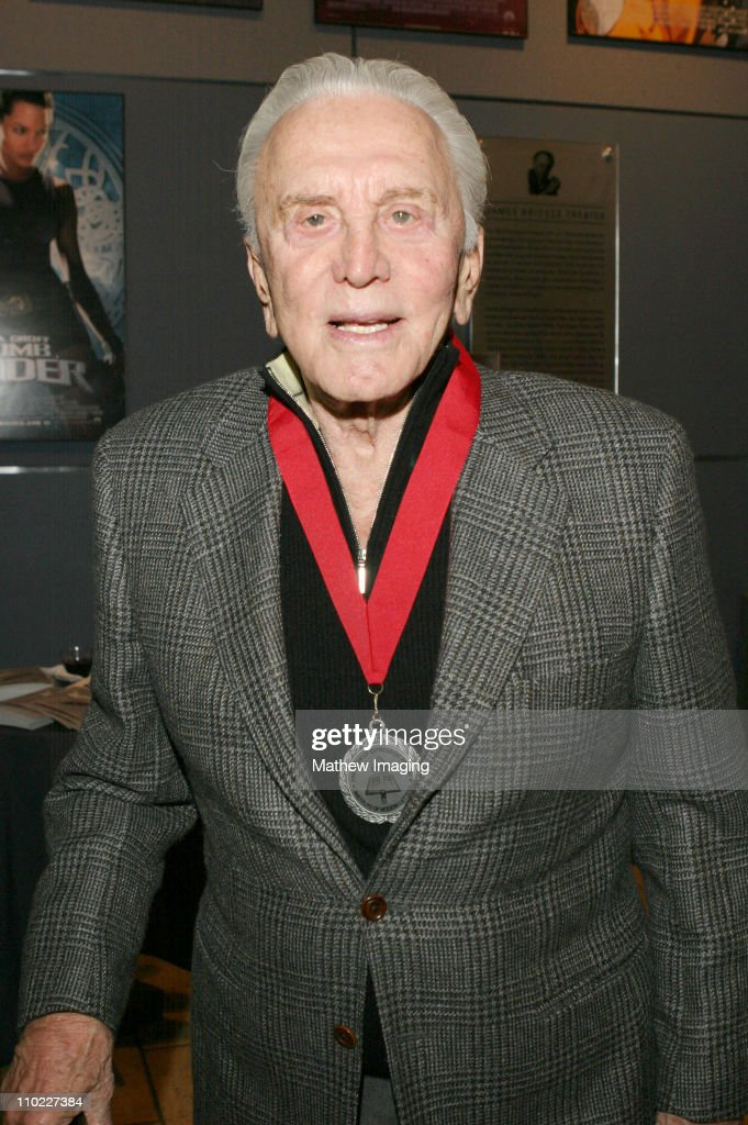 "Kirk Douglas And Edward Lewis To Receive The ""Freedom Of Expression Medal"" For"