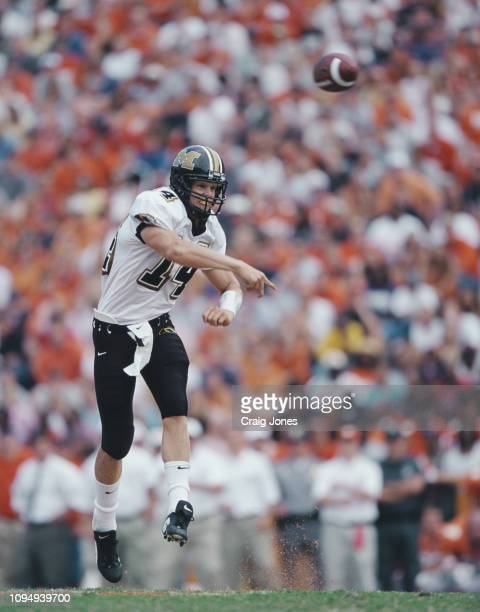 Kirk Farmer, Quarterback for the University of Missouri Tigers throws the ball downfield during the NCAA Big 12 Conference college football game...