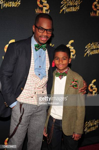 Kirk Franklin And Son Caziah Attend The 26th Annual