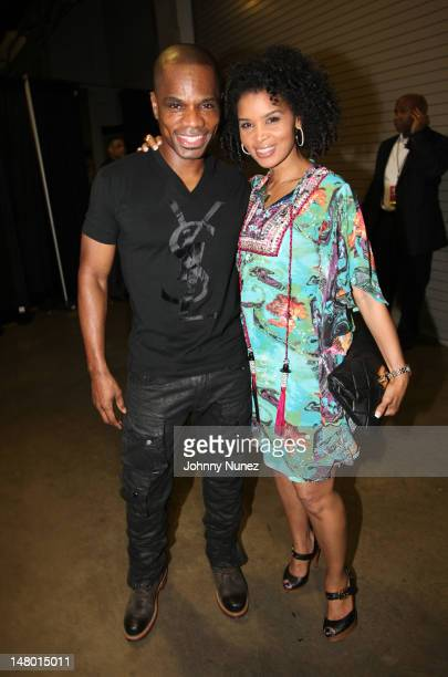 Kirk Franklin and Tammy Franklin attend the 2012 Essence Music Festival at Louisiana Superdome on July 7 2012 in New Orleans Louisiana