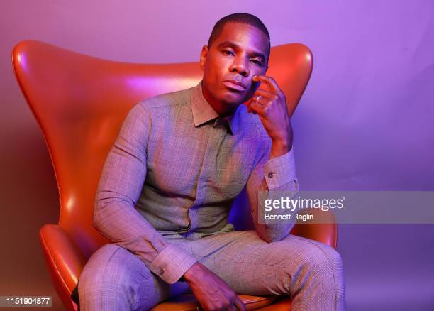 Kirk Franklin poses for a portrait during the BET Awards 2019 at Microsoft Theater on June 23 2019 in Los Angeles California