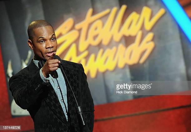Kirk Franklin presents during the 27th Annual Stellar Awards at the Grand Ole Opry House on January 14 2012 in Nashville Tennessee