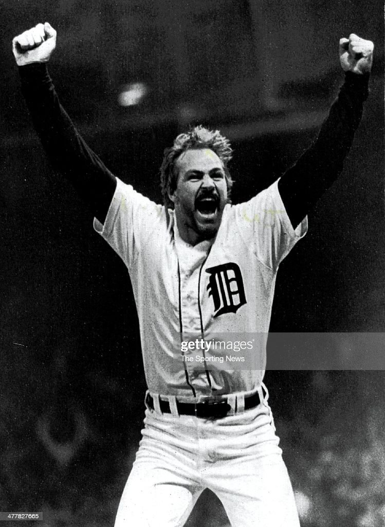 Kirk Gibson - Detroit Tigers : News Photo