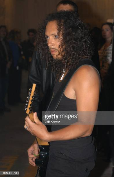Kirk Hammett during MTV Icon Metallica Show at Universal Studios Stage 12 in Universal City CA United States