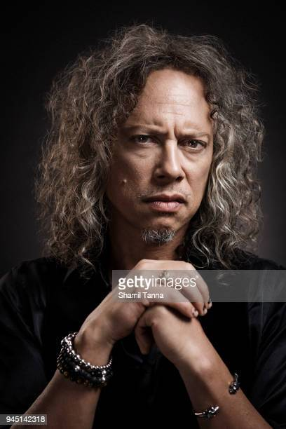 Kirk Hammett of heavy metal band Metallica is photographed for Red Bulletin on November 17 2016 in London England