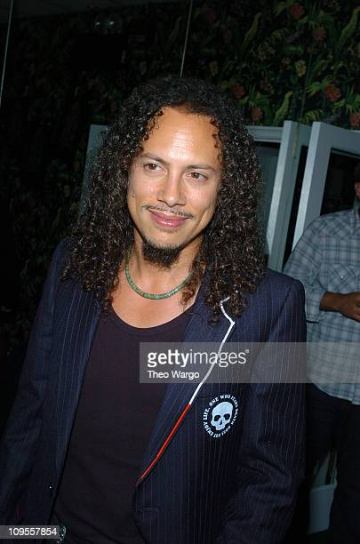 Kirk Hammett of Metallica during Metallica Some Kind of Monster New York Screening After Party at Gramercy Park Hotel in New York City New York...