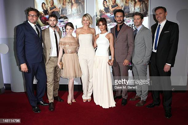 Kirk Jones Chase Crawford Anna Kendrick Cameron Diaz Cheryl Cole Rodrigo Santoro Matthew Morrison and guest attends the UK premiere of What To Expect...