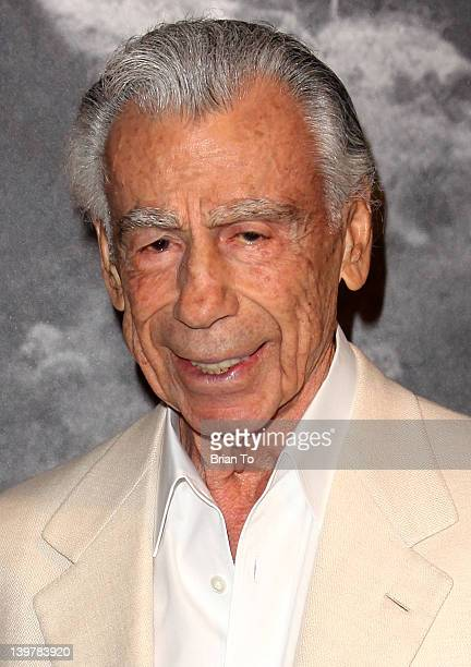 Kirk Kerkorian attends Joan Dangerfield hosts dinner reception at her private residence for Chinese delegation's official US visit on February 24...