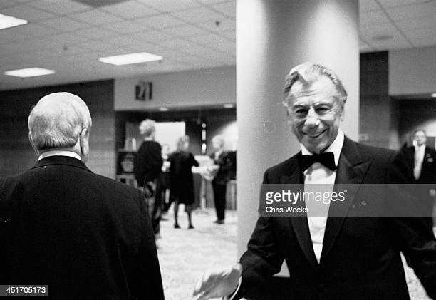 Kirk Kerkorian during Seventh Annual Andre Agassi Charitable Foundation's Grand Slam for Kids at MGM Grand Hotel in Las Vegas NV United States