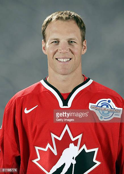 Kirk Maltby of Team Canada poses for a portrait during camp at the University of Ottawa Ottawa Ontario August 19 2004