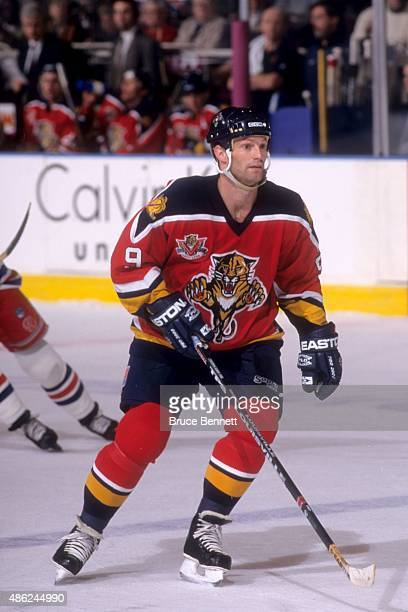 Kirk Muller of the Florida Panthers skates on the ice during an NHL game against the New York Rangers on December 12 1997 at the Madison Square...