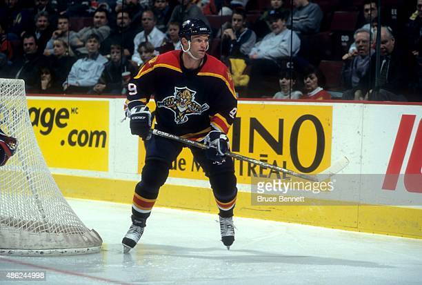 Kirk Muller of the Florida Panthers skates on the ice during an NHL game against the Ottawa Senators on February 11 1999 at the Canadian Tire Centre...