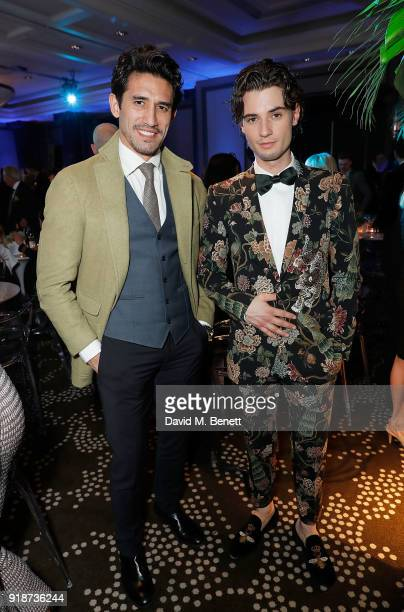 Kirk Newmann and Jack Brett Anderson attend the Newport Beach Film Festival UK Honours in association with Visit Newport Beach at The Rosewood Hotel...