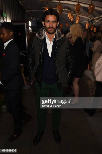 Kirk Newmann attends the Gentleman's Journal Bermuda 35th America's Cup summer party hosted by Jack Guinness at Ham Yard Hotel on May 18 2017 in...