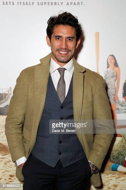 Kirk Newmann attends the Newport Beach Film Festival UK Honours in association with Visit Newport Beach at The Rosewood Hotel on February 15 2018 in...