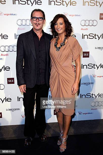 Kirk Pengilly and Layne Beachley attend the InStyle and Audi Women of Style Awards at Australian Technology Park on May 11 2010 in Sydney Australia