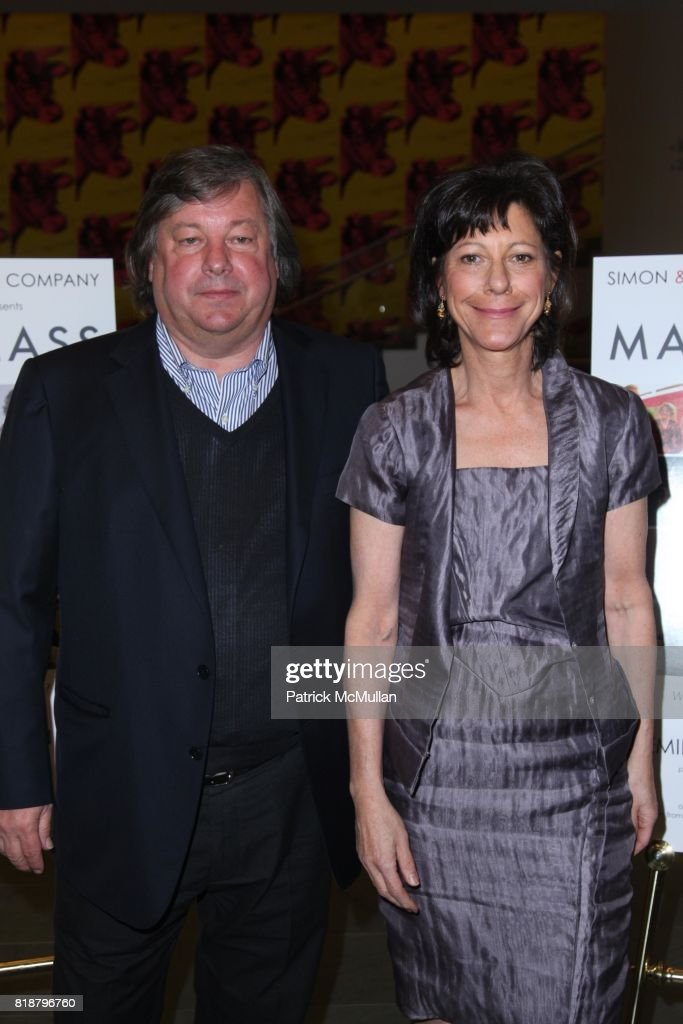 Kirk Simon and Karen Goodman attend SIMON AND GOODMAN PICTURE COMPANY and HBO DOCUMENTARY FILMS Celebrate a New Series: MASTERCLASS at Celeste Bartos Theatre on April 13, 2010 in New York City.