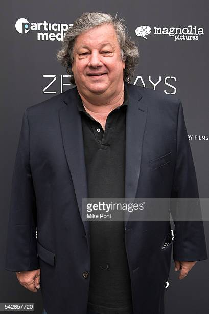 Kirk Simon attends the Zero Days New York Premiere at New York Institute of Technology on June 23 2016 in New York City