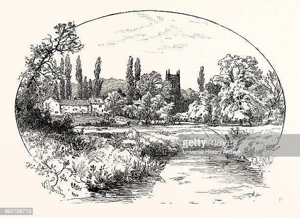 Kirkby Wharfe Is A Village 2 Miles South Of Tadcaster In North Yorkshire England UK