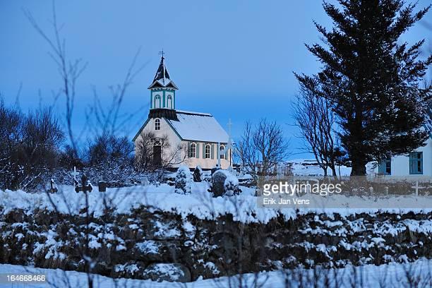 Kirkja á Þingvöllum