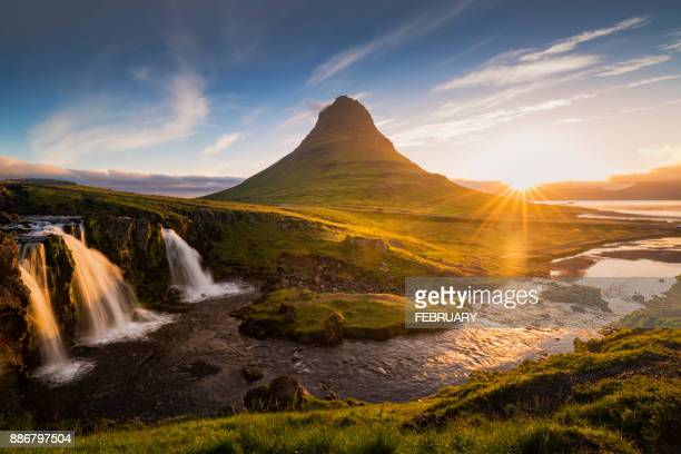 Kirkjufell in the morning.