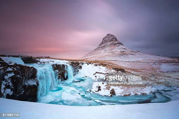 Kirkjufell Mountain at Snæfellsnes Penisula West of Iceland