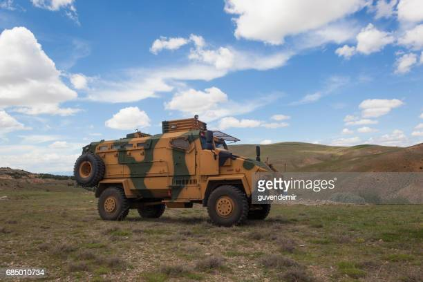 bmc kirpi mrap (mine resistant ambush protected) - mine resistant ambush protected stock pictures, royalty-free photos & images