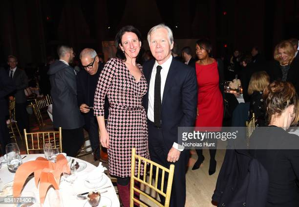 Kirsten Danis and guest attend Ellie Awards 2017 at Cipriani Wall Street on February 7 2017 in New York City