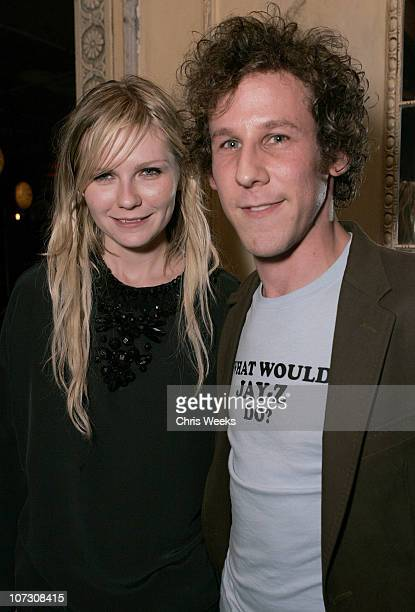 Kirsten Dunst and Ben Lee during NYLON Magazine and Miss Sixty Celebrate NYLON's LA Issue Hosted by Kirsten Dunst and Jason Schwartzman at...