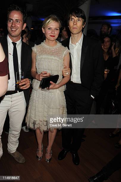 Kirsten Dunst and Ryan McGinley attend Courtney Love's performance during day three of Istancool by Liberatum and Istanbul'74 lectures on May 29 2011...